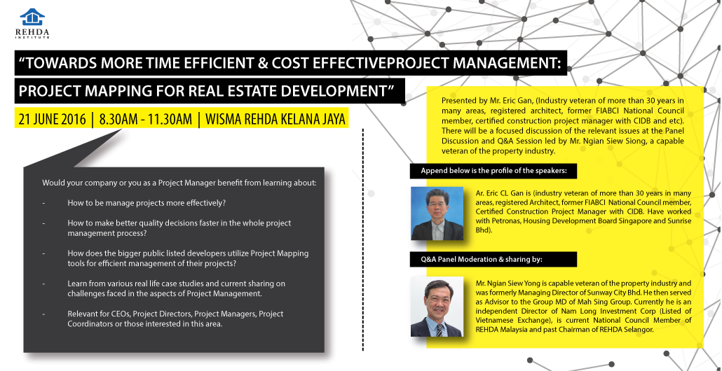 Rehda Towards More Time Efficient Cost Effective Project
